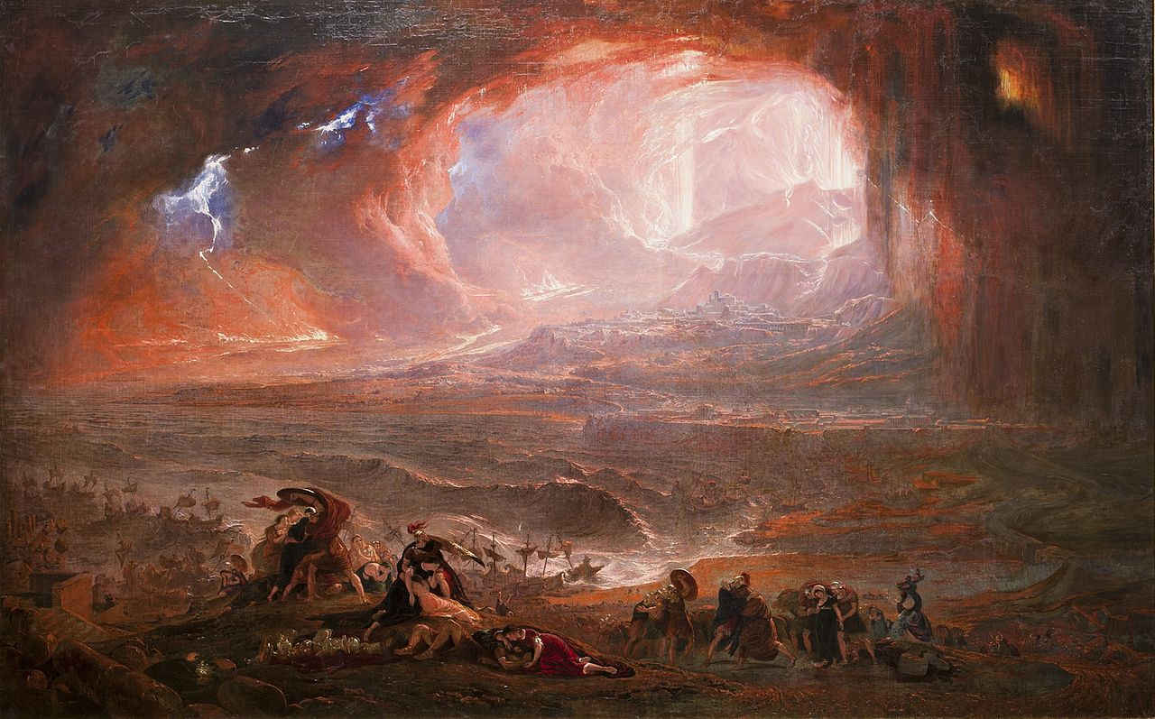 John Martin: Destruction of Pompeii and Herculaneum
