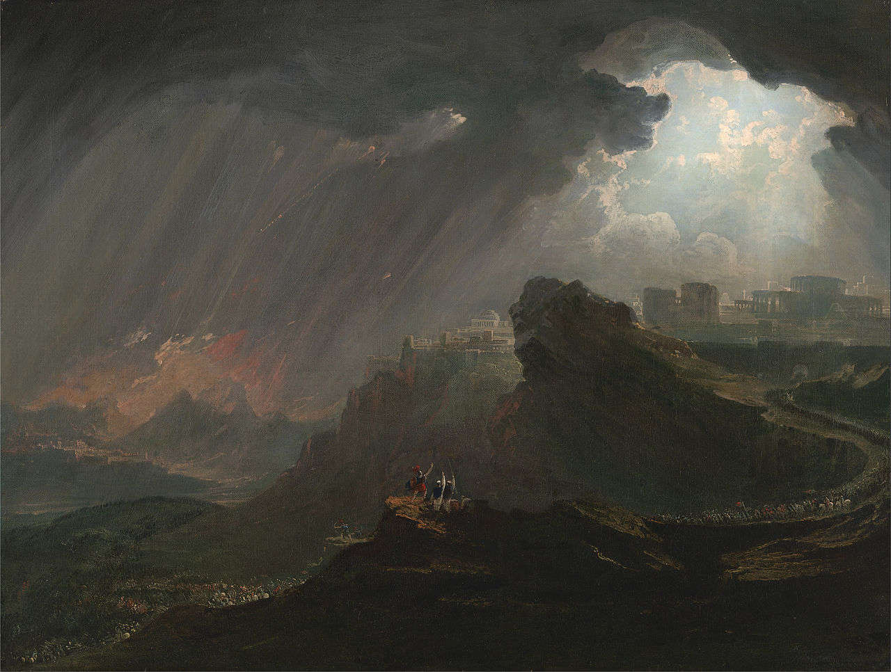 John Martin: Joshua Commanding the Sun to Stand Still