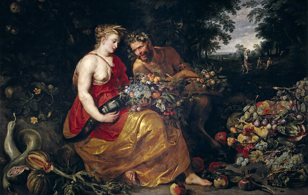 Peter Paul Rubens & Frans Snyders: Ceres and Pan