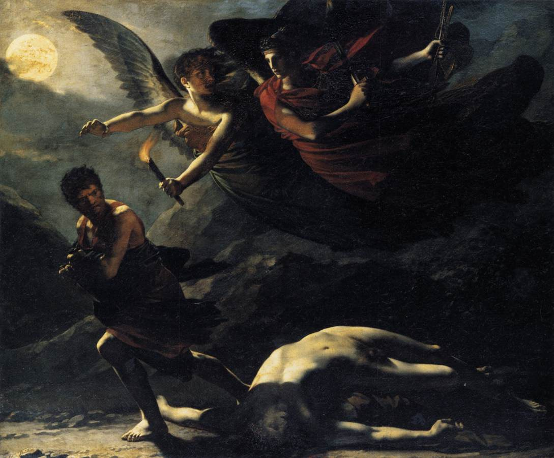 Pierre Paul Prud'hon: Justice and Divine Vengeance Pursuing Crime